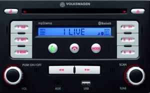 VW Zubehör MP3-Radio