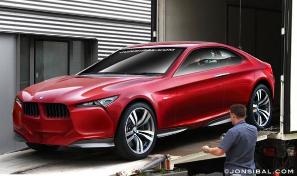 BMW M1 Concept Jon Sibal