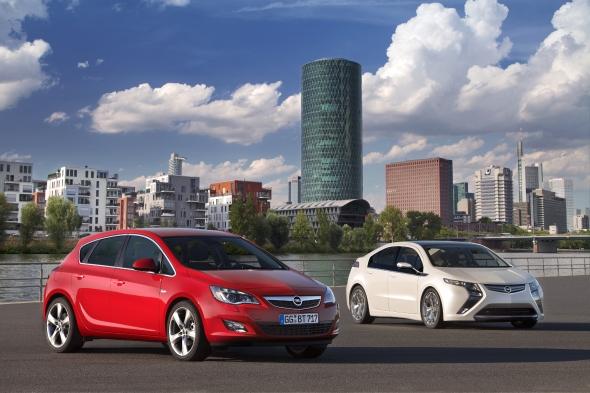 Neuer Opel Astra und Opel Ampera