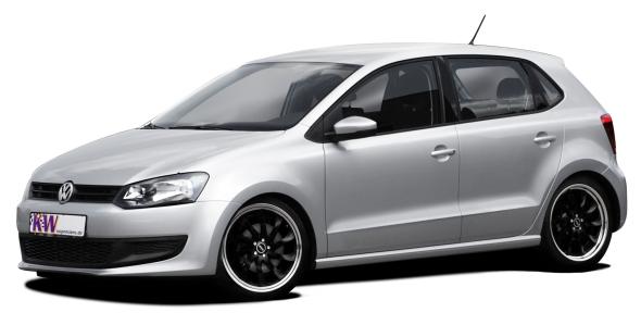 VW Polo mit KW-Gewindefahrwerk