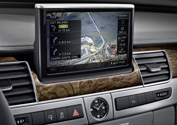 Audi A8 Google