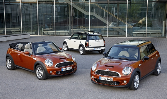 Mini Facelift 2011