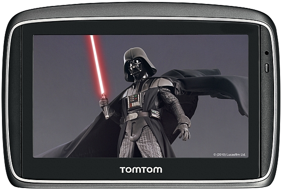 Darth Vader Star Wars TomTom