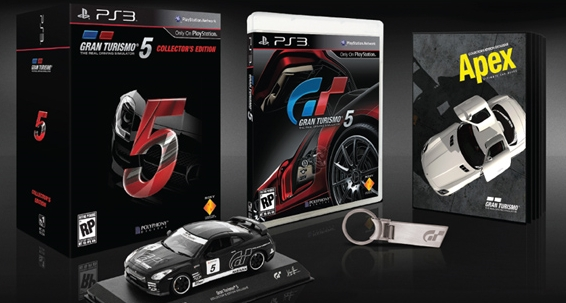 Gran Turismo 5 Collectors Edition