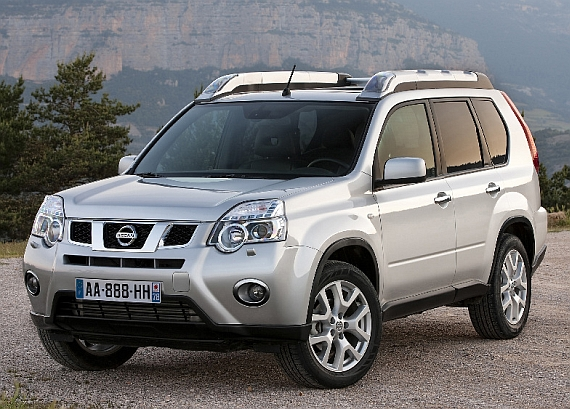 Nissan X-Trail Facelift 2011