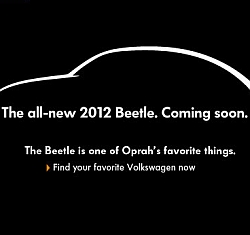 VW New Beetle 2012