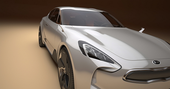 Kia Sportwagen Concept Car