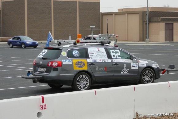 CarOLO beim DARPA Urban Challenge Finale
