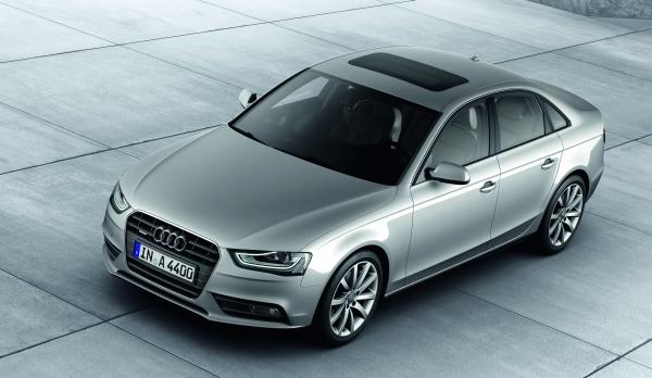 Audi A4 Facelift 2012
