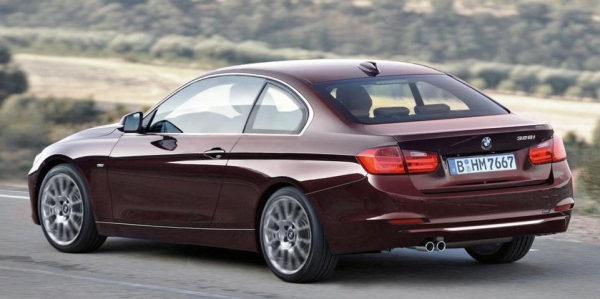 BMW 3er Coupe 2013 Bordeaux