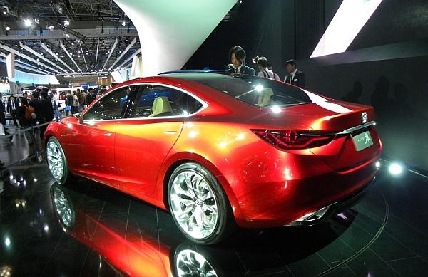 Mazda Takeri: Ausblick auf neuen Mazda6