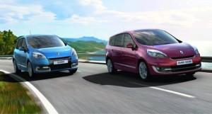 Facelift 2012 Renault Scenic und Grand Scenic