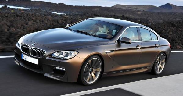 BMW M6 Gran Coupe-Entwurf