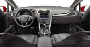 Ford Mondeo 2013: das Interieur