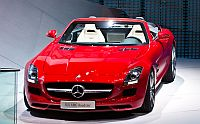Blogger Auto Award 2012: Mercedes SLS AMG Roadster