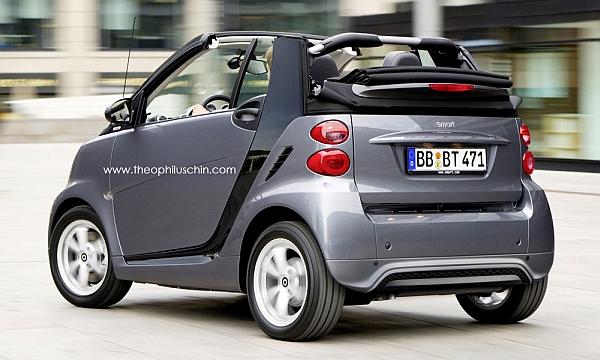Smart Cabrio 2012
