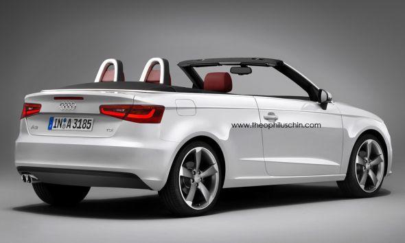 Audi A3 Cabrio 2013