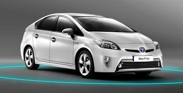 Toyota Prius Facelift 2012