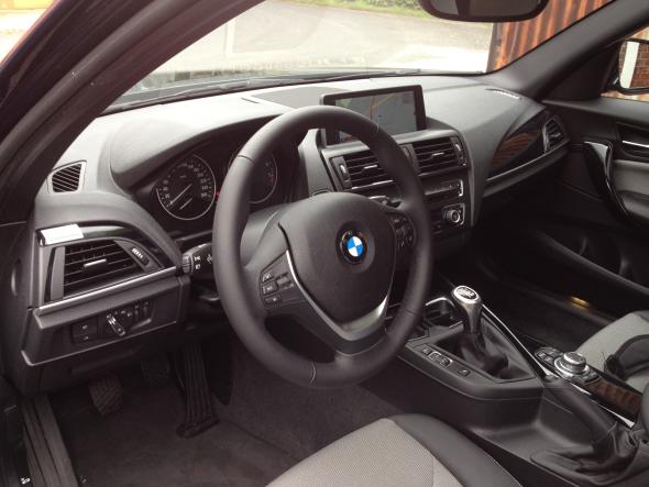 BMW 116i Fahrbericht: wertiges Interieur