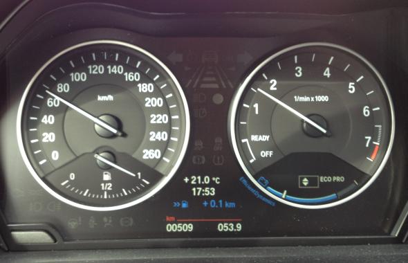 BMW 116i Fahrbericht: Efficient Dynamics/Eco-Pro-Anzeige