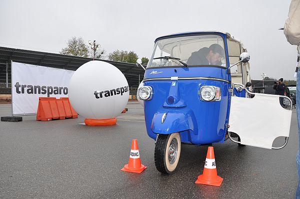 Transparo Einpark-Meisterschaft