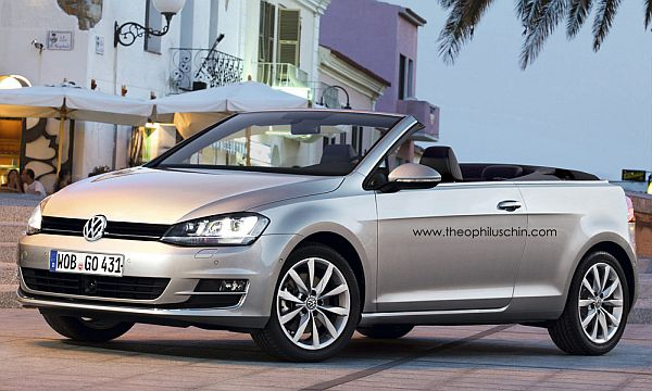 VW Golf 7 Cabrio