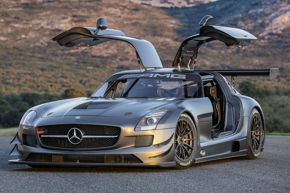 sondermodell mercedes benz sls amg gt3 45th anniversary. Black Bedroom Furniture Sets. Home Design Ideas