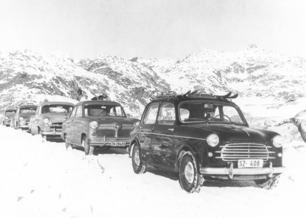 Gotthardpass Historisch