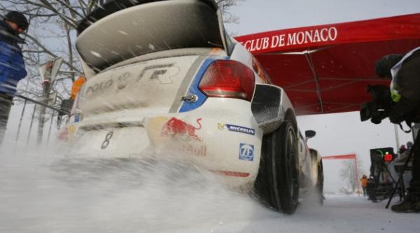 VW Motorsport Rallye WM 2013 Monte Carlo