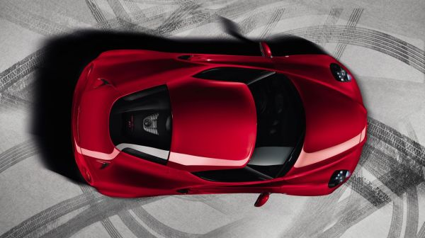 Alfa Romeo 4C Dach