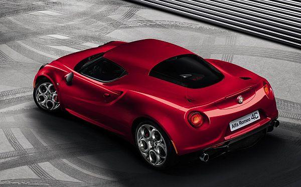 Alfa Romeo 4C Hinten