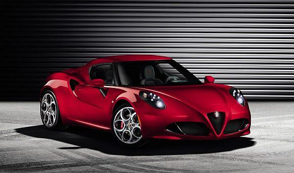 Alfa Romeo 4C Vorne
