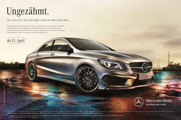 Mercedes-CLA Kampagne