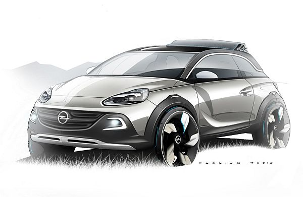 Opel Adam Crossover Studie Adam Rocks