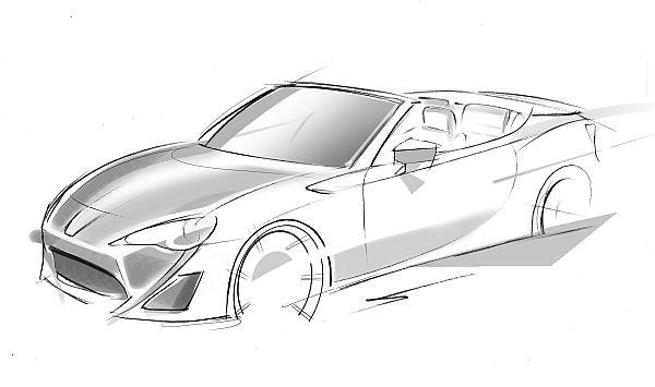 Toyota GT86 Roadster