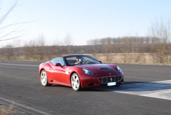 Ferrari California 30 Fahrbericht-Fahrt