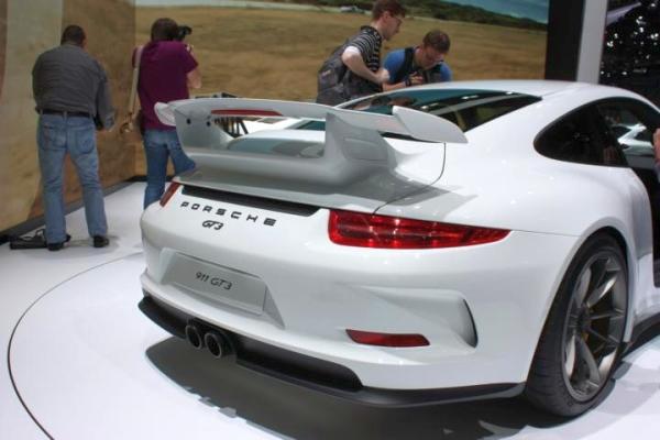 Genf 2013 Porsche 911 GT3 - Bild 05