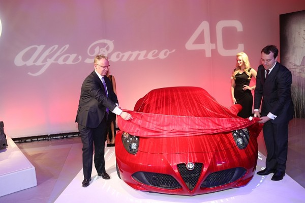 Alfa 4C Deutschlandpremiere