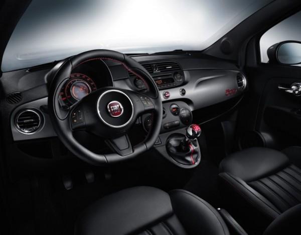 Fiat 500S-Interieur