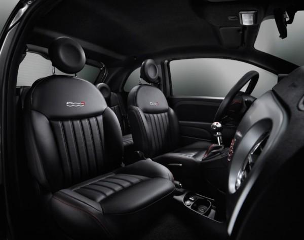 Fiat 500S-Sitze