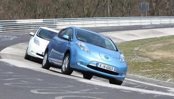 Nissan Leaf Nordschleife