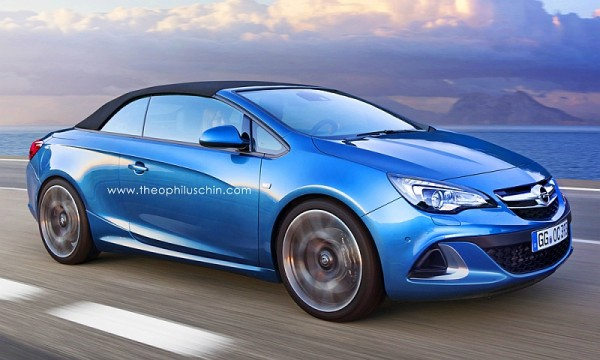 Nicht unwahrscheinlich: ein Opel Cascada OPC