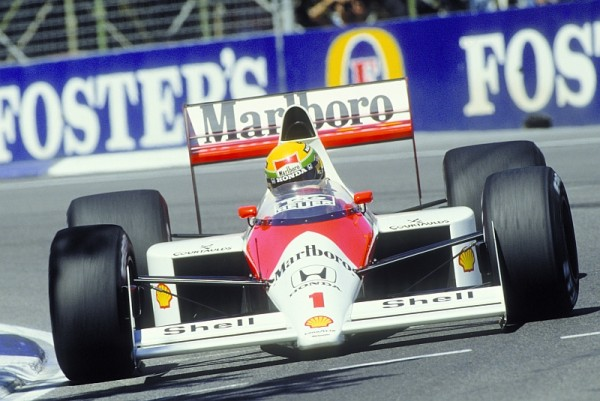 Honda beim Formel 1 Grand Prix in Australien im Jahr 1989.