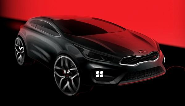 Kia Proceed GT Skizze