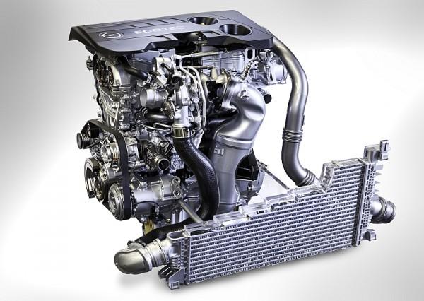 Opel 1.6 SIDI Turbobenziner mit Direkteinspritzung