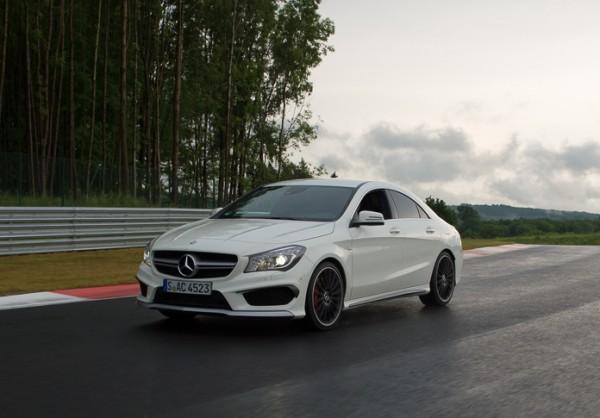Mercedes CLA 45 AMG Bilster Berg