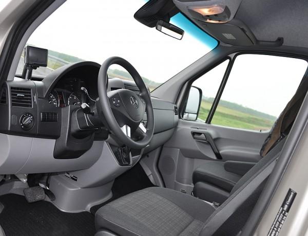 Mercedes-Sprinter-Fahrbericht