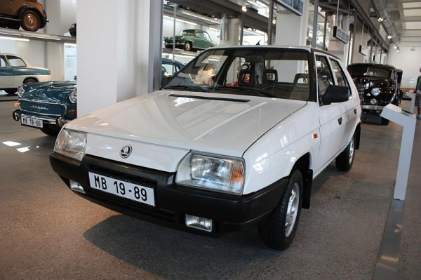 Škoda Favorit 136 L, type 781 (1989 – model year 1990)