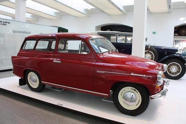 Škoda Octavia Combi, type 993 C (1964)