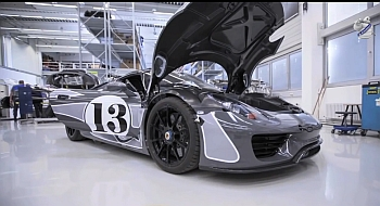Porsche 918 Spyder Video